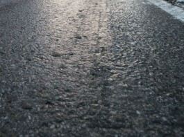 Lód na drodze
