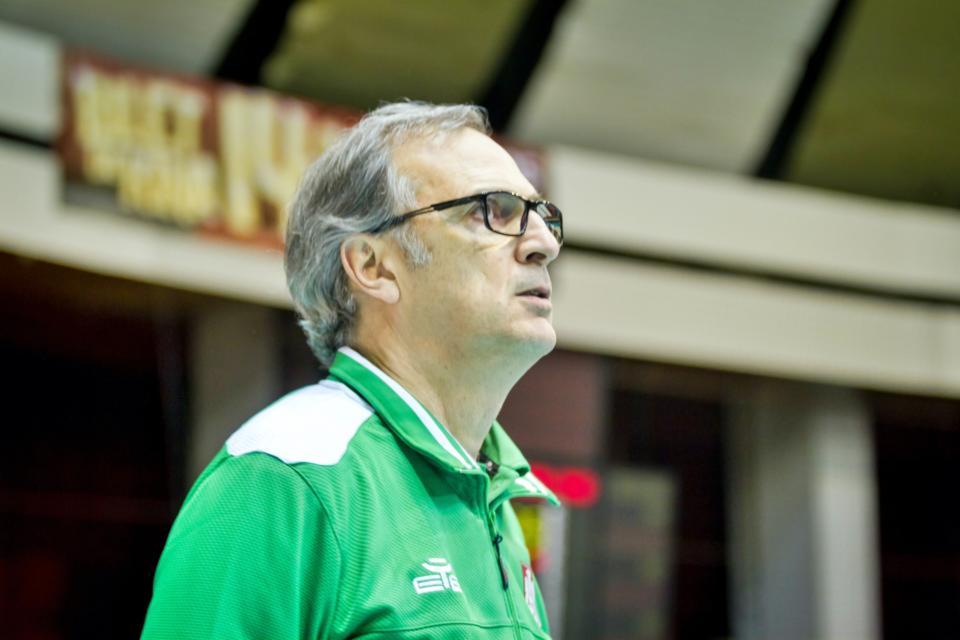 Trener Daniel Castellani
